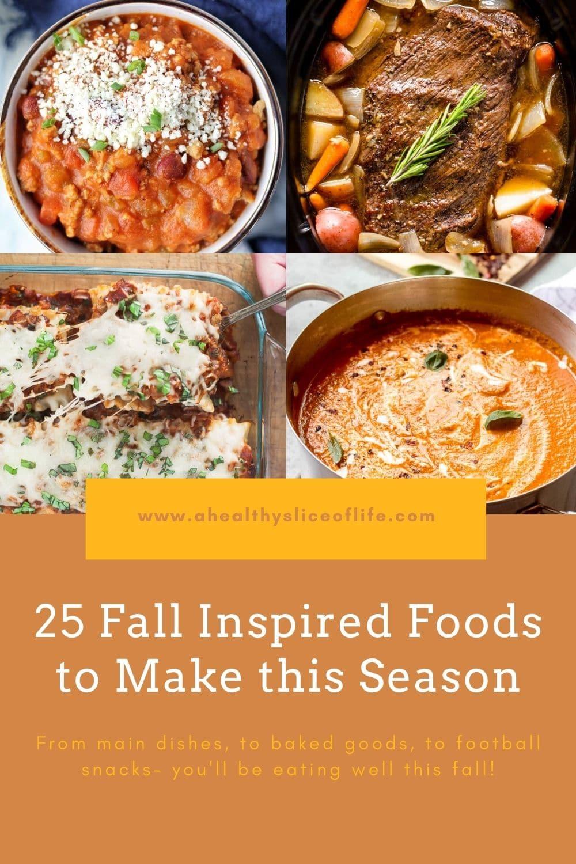 fall food ideas
