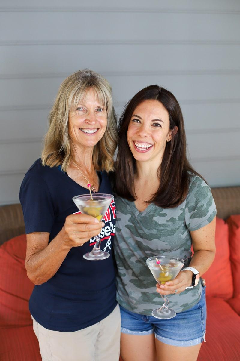 mom and me martini