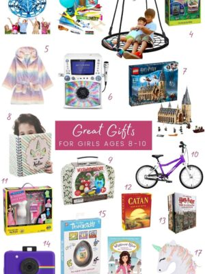 nine year old girl gift guide